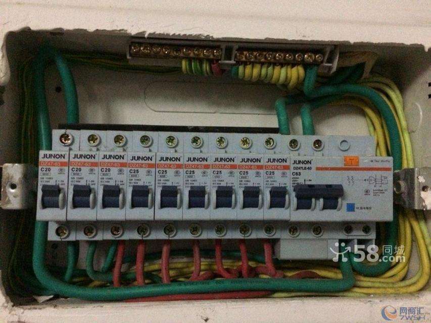 综合布线,更换电闸